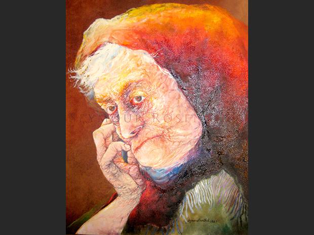 A Grieving Widow