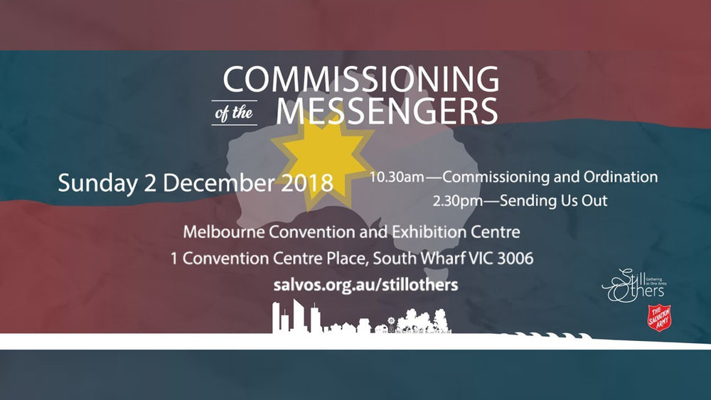 Commissioning of the Messengers