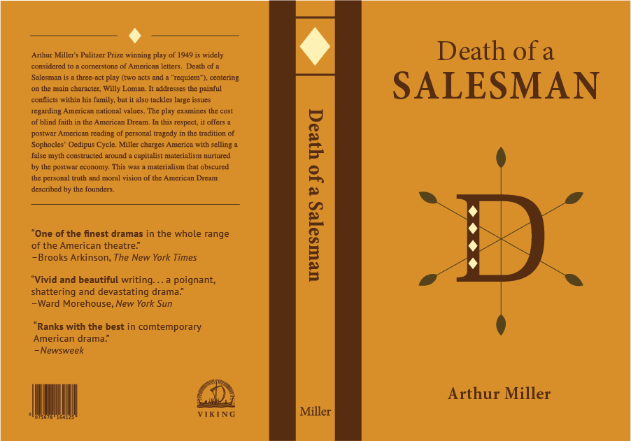 an examination of the immaturity of willy loman in death of a salesman Arthur miller's death of a salesman follows the story of willy loman, an aging and mediocre salesman who once cheated on his wife tired to the death an expression.