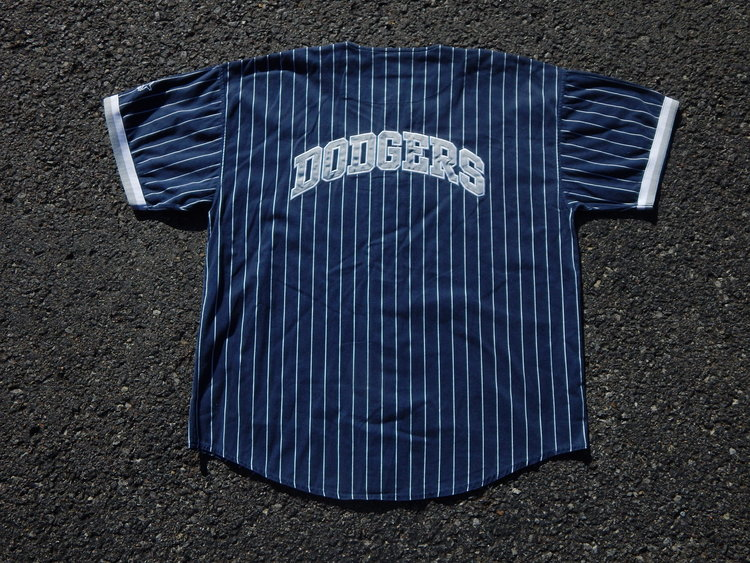 Rare LA Dodgers Vintage Starter Pinstripe Jersey — HAUS OF VAIN 2b5090718c5