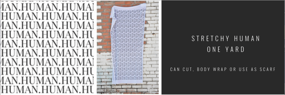PURE WHITE & BLACK | MODERN JERSEY BLEND (STRETCH) - $37.00 (ONE YARD)