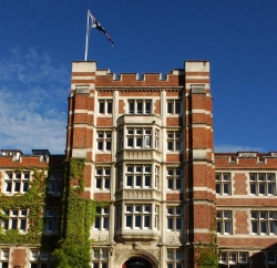 Knox College in Dunedin, a short walk from Arden Street House