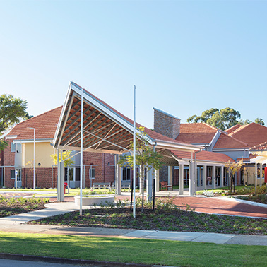 AMAROO CARE GROUP, KARRI    Aged Care Facility | Gosnells, West Australia    Significant refurbishment and redesign of 36 places for their dementia specific area. Specialist Dementia Design consultation services from concept to completion including sensory design with finishes, fitout and landscaping   design provided by de Fiddes Design.