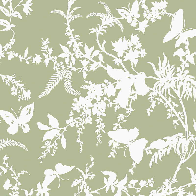 Image Courtesy of Materialised Fabrics | Tropical Floral, Florence Broadhurst