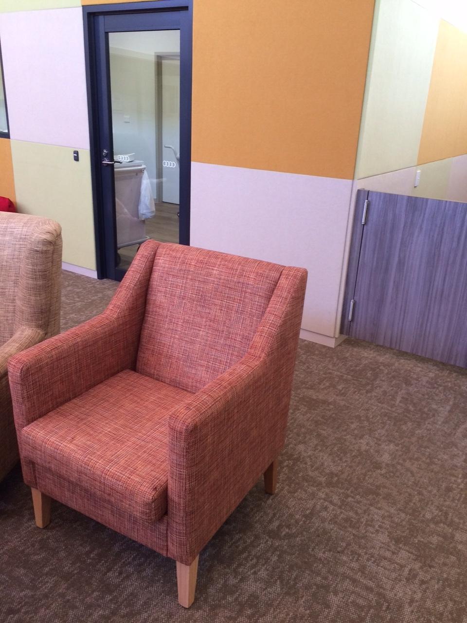 Amaroo Karri Living Room Acoustic Finishes