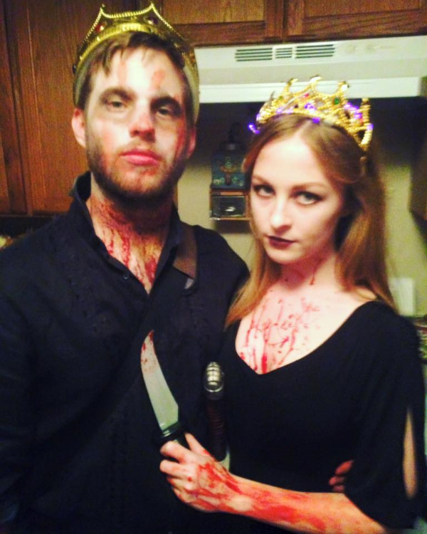 Halloween 2015 - Macbeth and Lady Macbeth