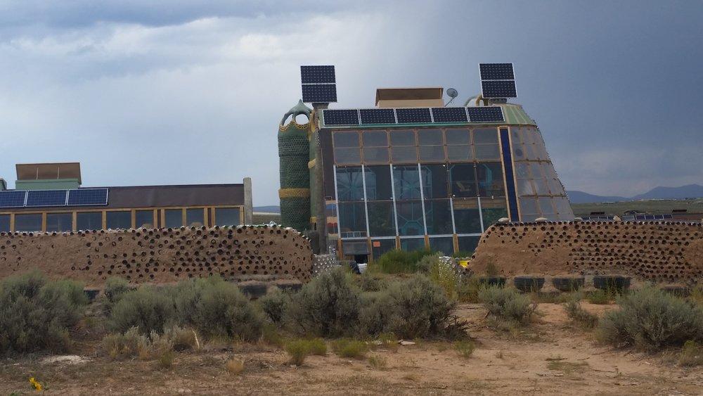 Earth Ship, Taos New Mexico U.S.A.