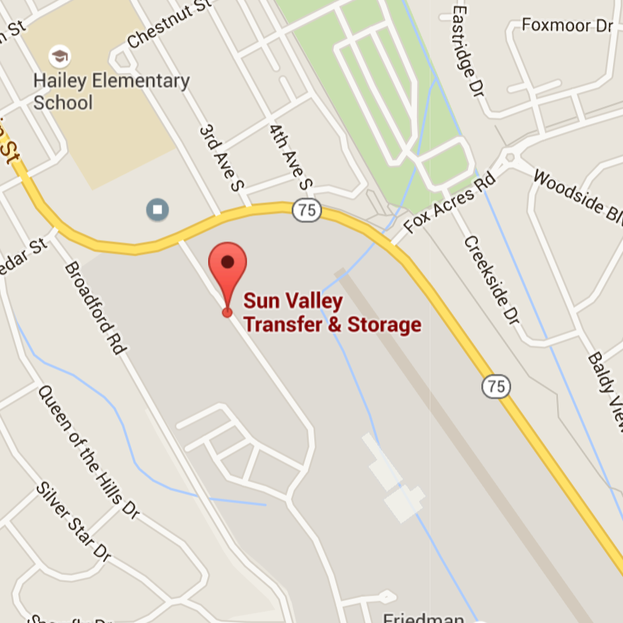 Conveniently located next to the Hailey Airport, Valley Self-Store offers on-site management of over 500 units from 5'x5' to 20'x40'.