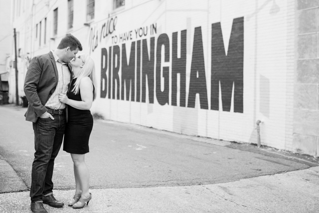 Photographs from Alexis & Chris' Birmingham, AL engagement session by Alabama wedding photographers Little Acorn Photography (Luke & Jackie Lucas).