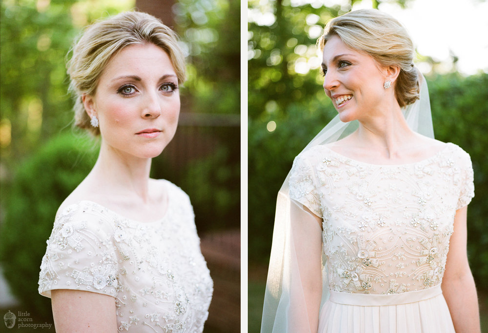 Photographs from Emily Crawford's bridal portrait session at The Preserve in Birmingham, AL by Alabama wedding photographers Little Acorn Photography (Luke & Jackie Lucas).