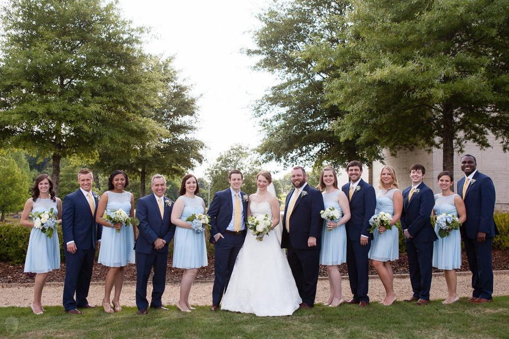 Photographs from Rebekah & Jared's Auburn, AL wedding at Jule Collins Smith Musem by Alabama wedding photographers Little Acorn Photography (Luke & Jackie Lucas).