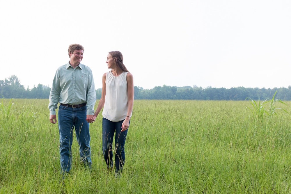 Photographs from Kaitlin & Richard's Pike Road, AL engagement session by Alabama wedding photographers Little Acorn Photography (Luke & Jackie Lucas).