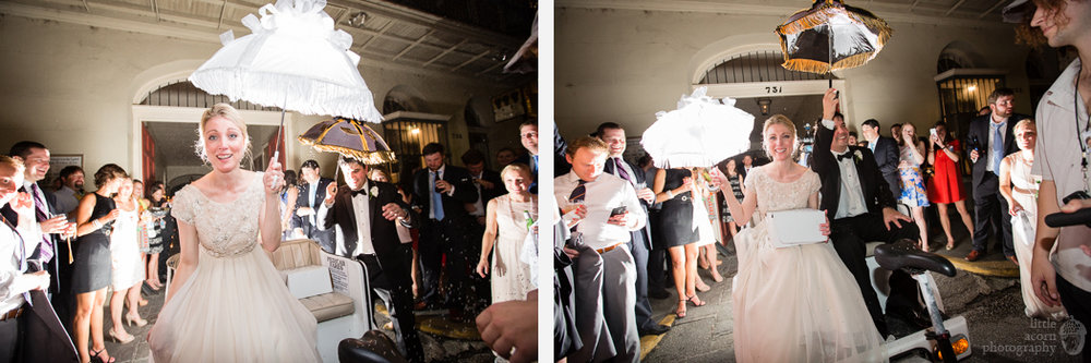 Photographs of Emily & Graham's New Orleans, LA wedding by wedding photographers Little Acorn Photography (Luke & Jackie Lucas).