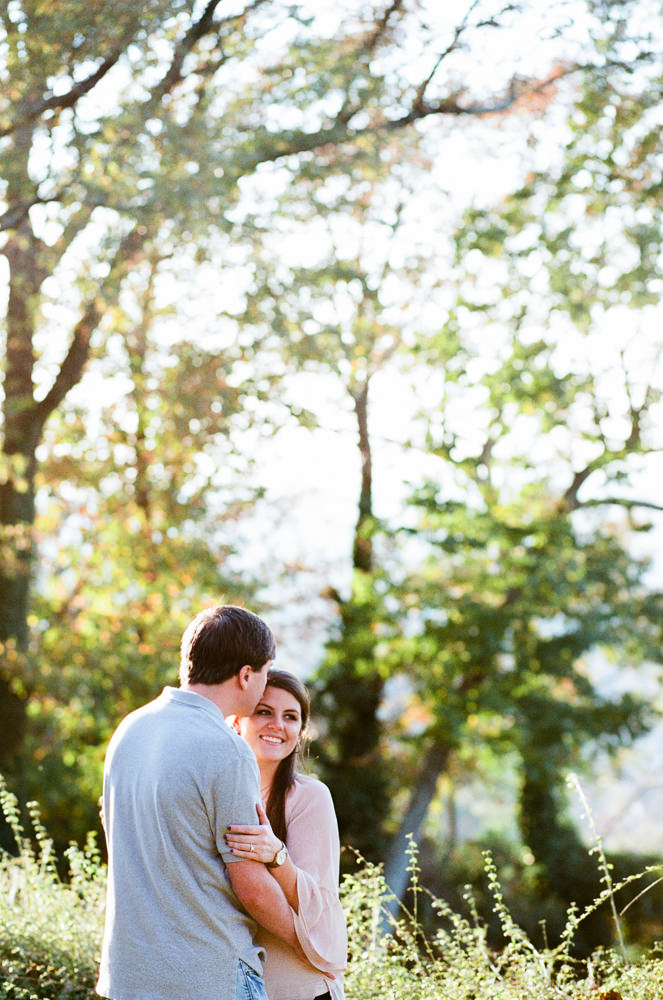 Photographs from Erica & Robbie's Birmingham, AL engagement portrait session by Alabama wedding photographers Little Acorn Photography (Luke & Jackie Lucas).