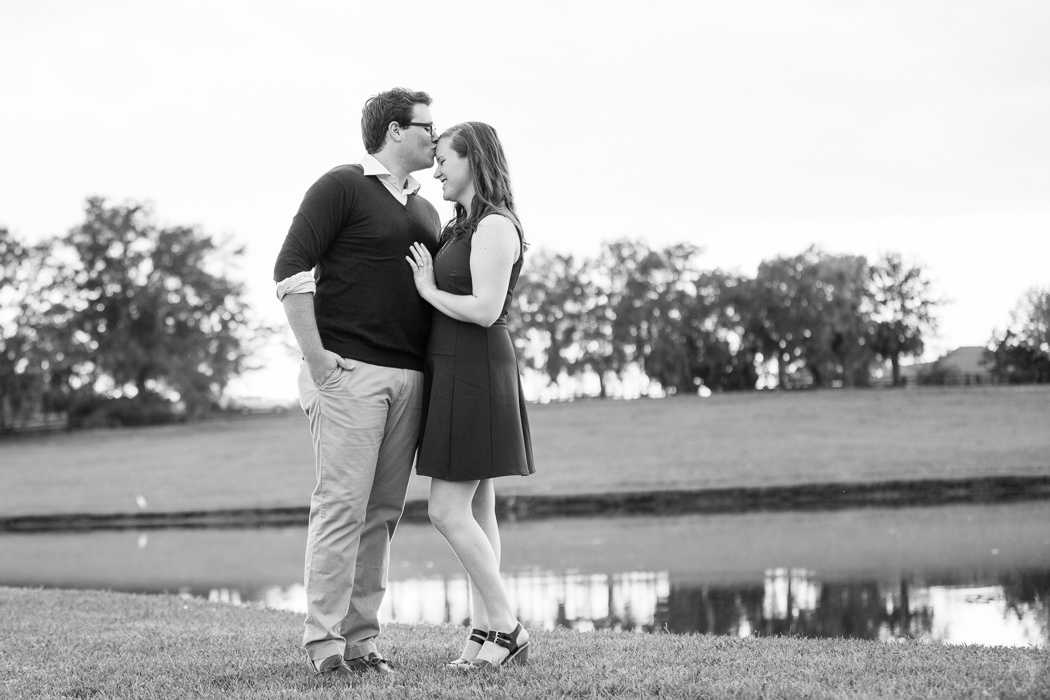 Photographs from Ellen & Brooks' engagement portrait session at The Waters by Alabama wedding photographers Little Acorn Photography (Luke & Jackie Lucas).