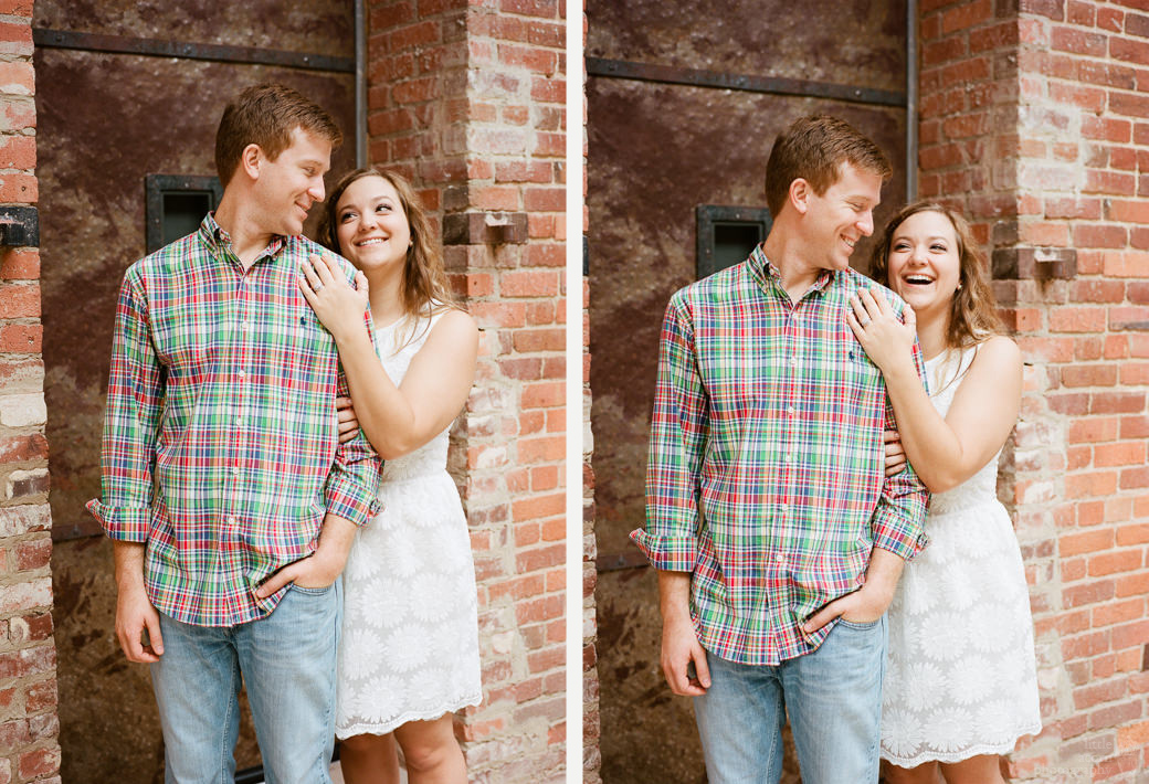 Photographs from Sarah & Sean's Montgomery, AL  engagement portrait session by Alabama wedding photographers Little Acorn Photography (Luke & Jackie Lucas).