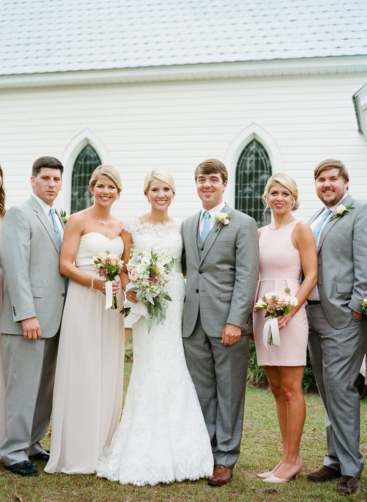 Photographs from Karon & Scott's Camden, AL wedding by Alabama wedding photographers Little Acorn Photography (Luke & Jackie Lucas).
