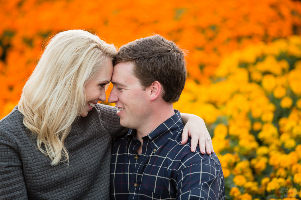 Photographs from Jennifer & Jordan's Birmingham, AL engagement portrait session by Alabama wedding photographers Little Acorn Photography (Luke & Jackie Lucas).