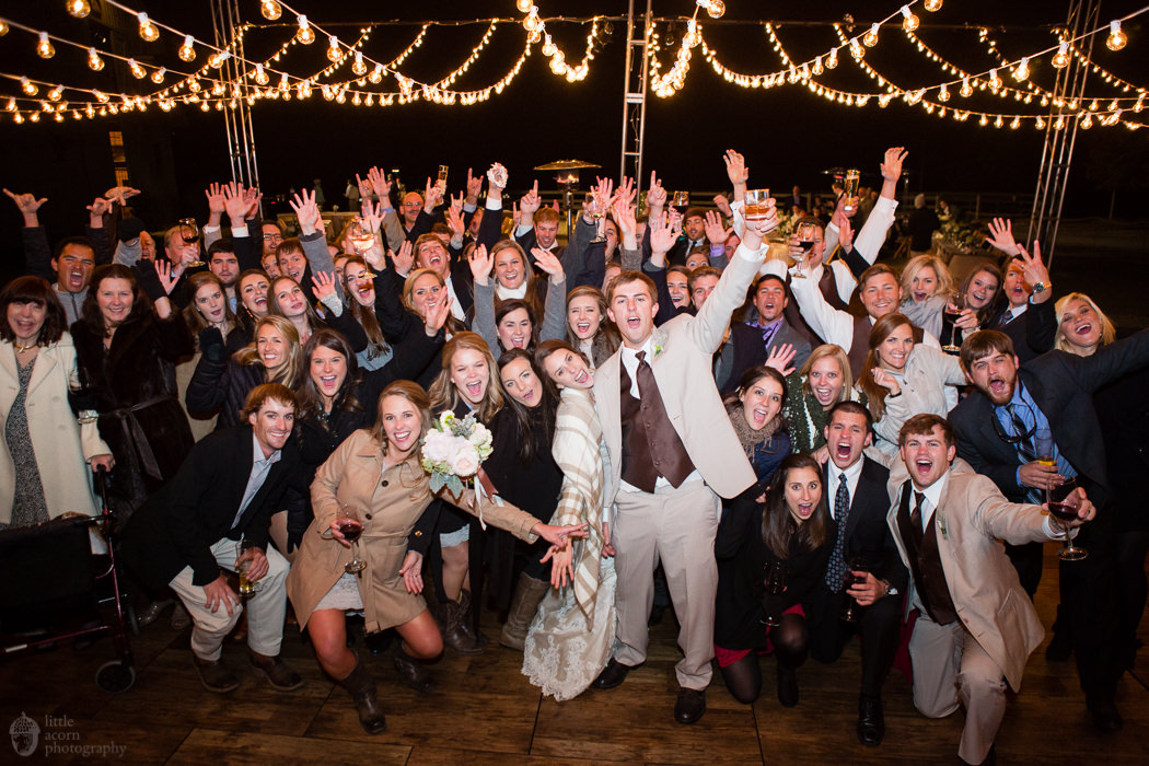 Photographs of Magen & William's Heaven Hill wedding and Stables at Russell Crossroads reception by Alabama wedding photographers Little Acorn Photography (Luke & Jackie Lucas).