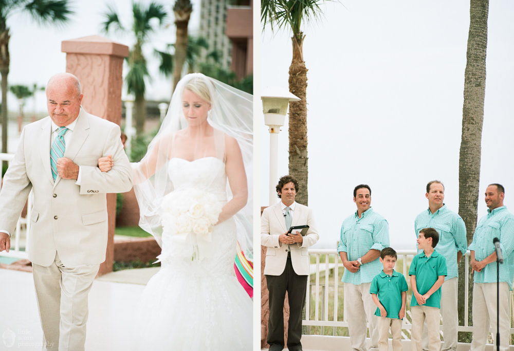 Photographs from Valkyrie & Charlie's Orange Beach, AL wedding by Alabama wedding photographers Little Acorn Photography (Luke & Jackie Lucas).