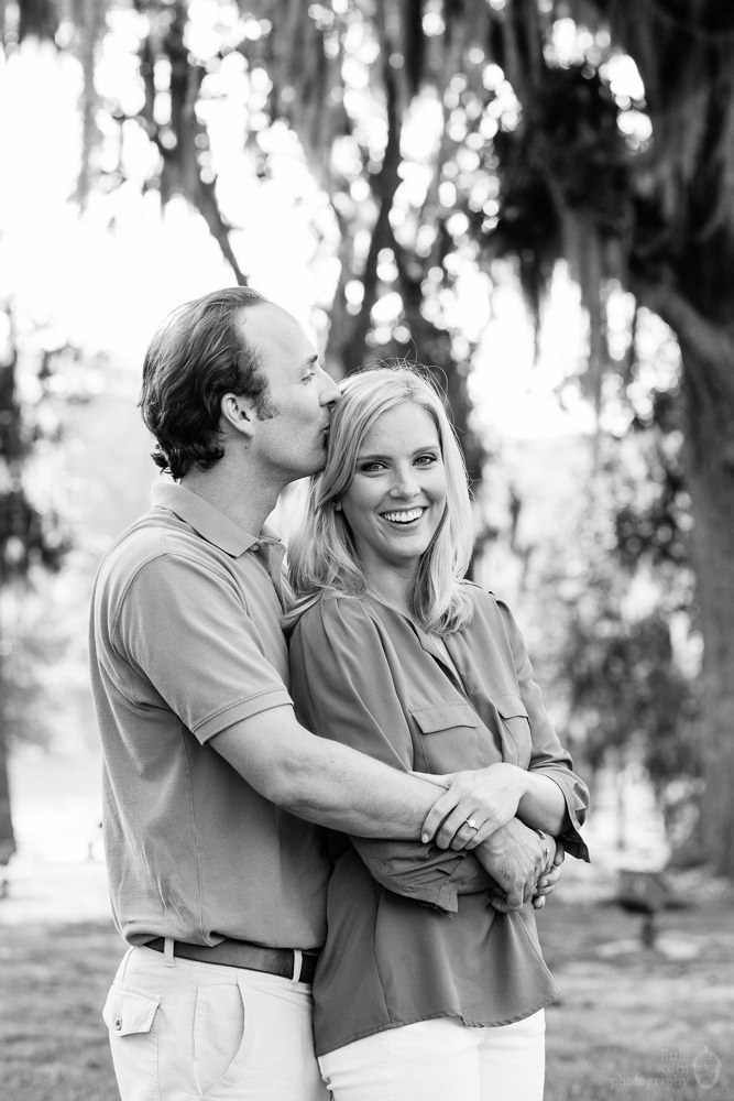 Photographs from Emily & Duke's  engagement portrait session at The Waters by Alabama wedding photographers Little Acorn Photography (Luke & Jackie Lucas).