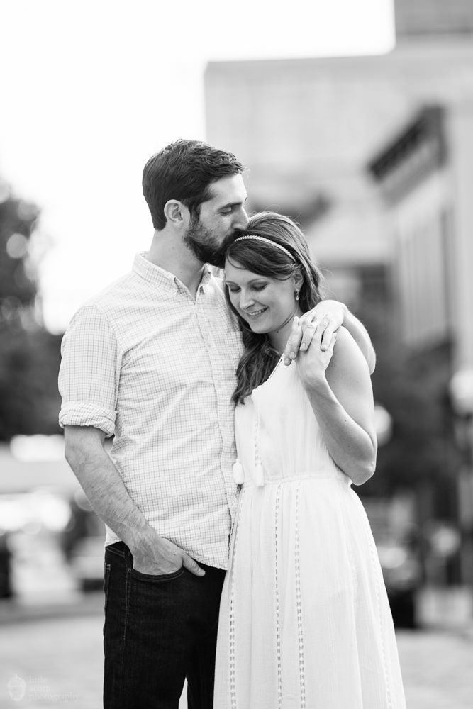 Photographs from Kara & Forest's Birmingham, AL engagement session by Alabama wedding photographers Little Acorn Photography (Luke & Jackie Lucas).