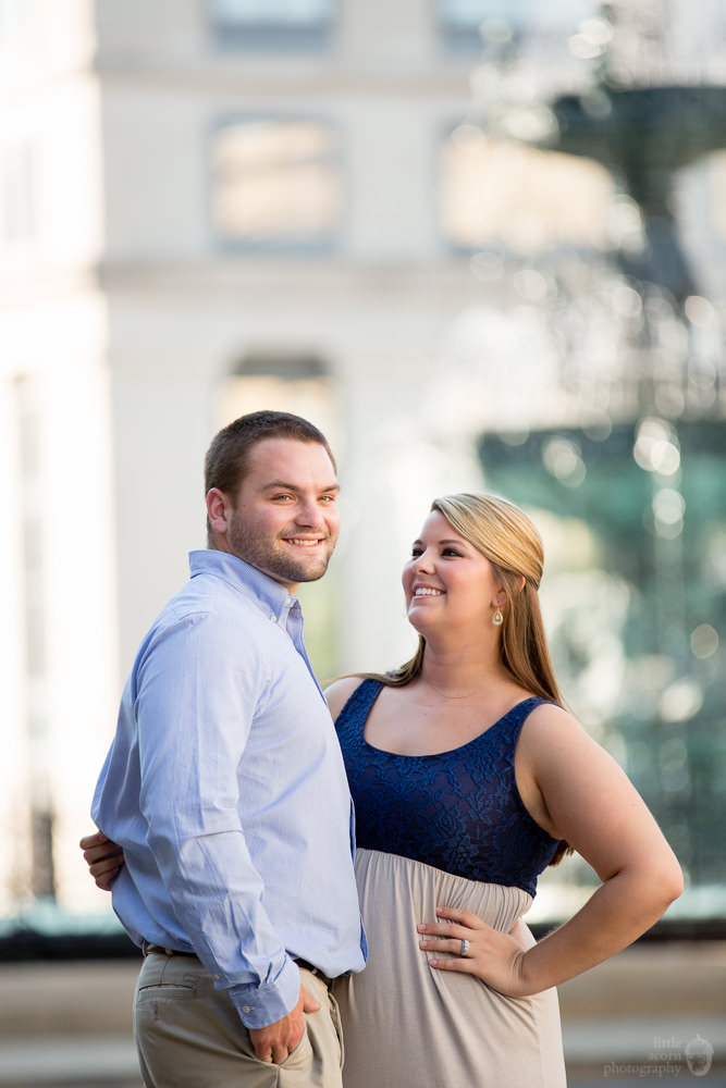 Photographs from Paige & Tyler's Montgomery, AL  engagement portrait session by Alabama wedding photographers Little Acorn Photography (Luke & Jackie Lucas).