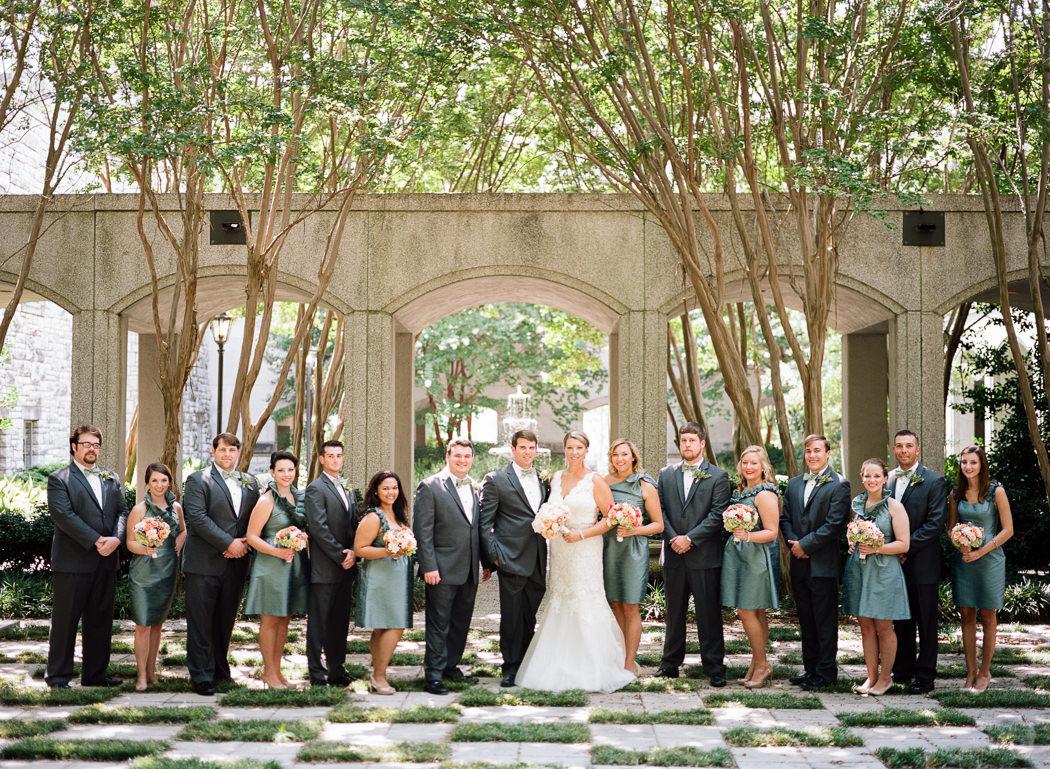 Photographs from Anne Preston & Garrett's Montgomery, AL wedding at First Baptist Church by Alabama wedding photographers Little Acorn Photography (Luke & Jackie Lucas).