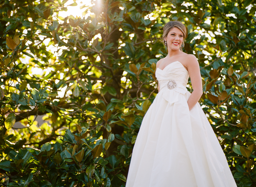 Photos of Kelsey Braun's Demopolis, AL bridal portrait session by Alabama wedding photographers Little Acorn Photography.