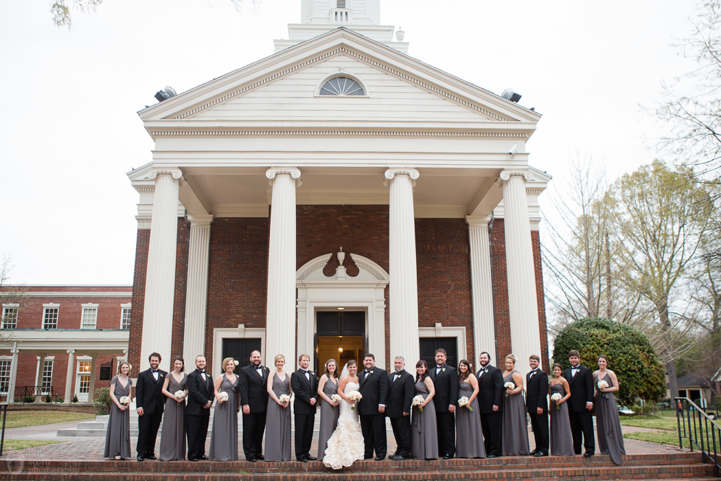 Photographs of Eloise & Aaron's Montgomery, AL wedding by Alabama wedding photographers Little Acorn Photography (Luke & Jackie Lucas).