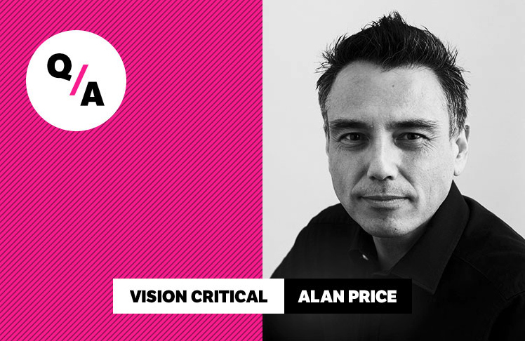 Creating work for fun: Q&A with Vision Critical Chief Technology Officer, Alan Price   Vision Critical