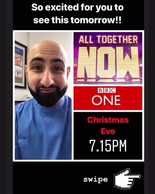💥 TV Show Alert 💥  Tune in tomorrow night to catch me and my fellow 💯 judges on the Celebrity Special of @alltogethernowtv on @bbcone at 7.15pm! It's going to be epic! #alltogethernow