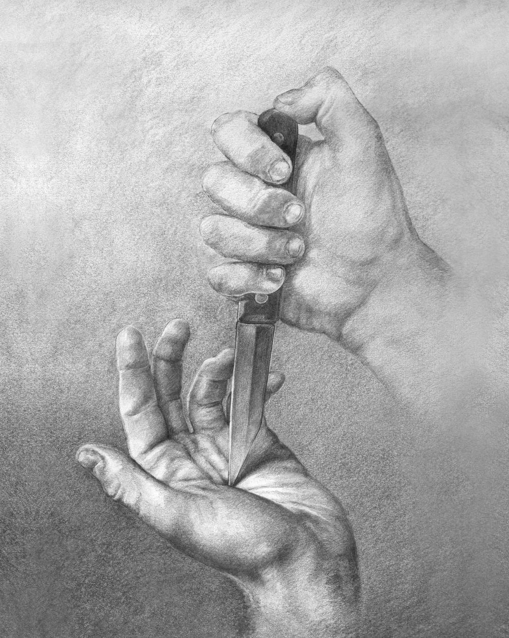 Hands Sketch, 2016