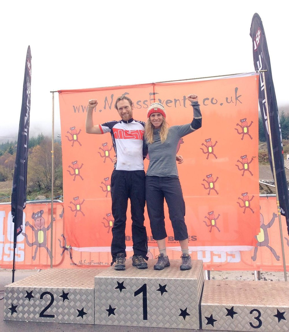 Matthew Jones and Lee Craigie 24-Hour MTB Champions