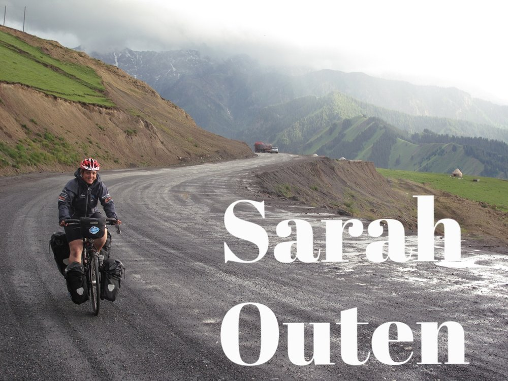 Sarah Outen is an adventurer by land and sea, having spent the best (and worst!) part of the last eight years on long expeditions. Her four bikes are called Hercules, Atlas, Beetle and Swifty. She has a sourdough starter called Grace. Her latest book is called Dare to Do.