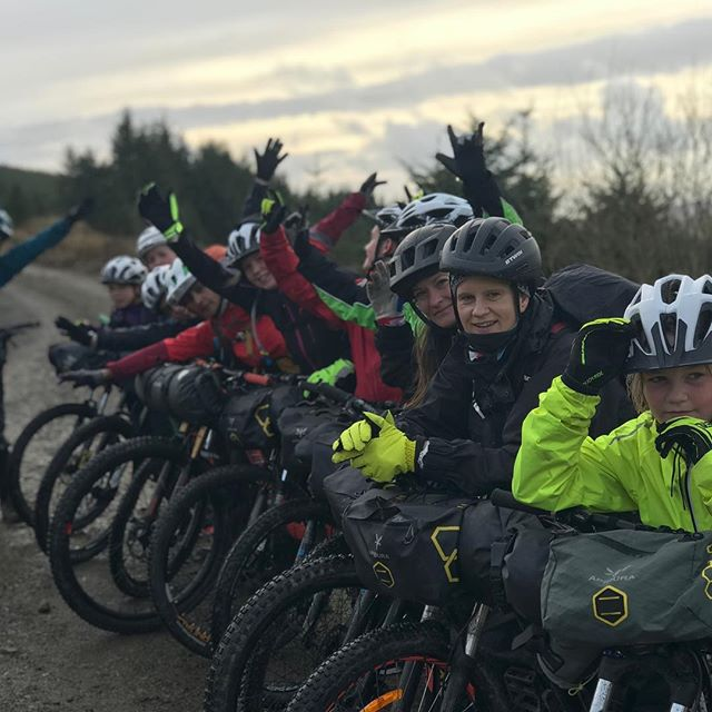 This weekend new friendships were made. A team of 12 including staff and pupils from Gala Academy, Lee and Jenny from The Adventure Syndicate and Aneela and Elissa from Go Where Scotland came together for a #bikepacking adventure in the Scottish Borders.  High points included marshmallows for breakfast, posh bothys, competitive card games, pretending we were sheep as well as some wicked riding in wild places. Everyone finished tired and happy and desperate for showers except Lee and Jen who will probably go another week or two. #mingers