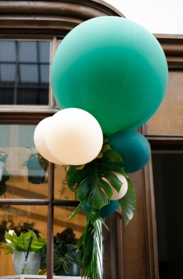 The coolest balloon arrangements- created by Mindy, Colin, and Linnea!