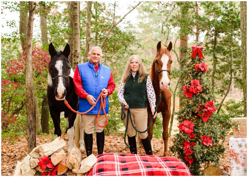 These two horses were just saints for these pictures! They posed perfectly, and just were so good for these. I loved that the Thacker's included them in their photos!