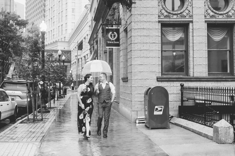 I love all these in B&W! Reminds me of an old movie scene!