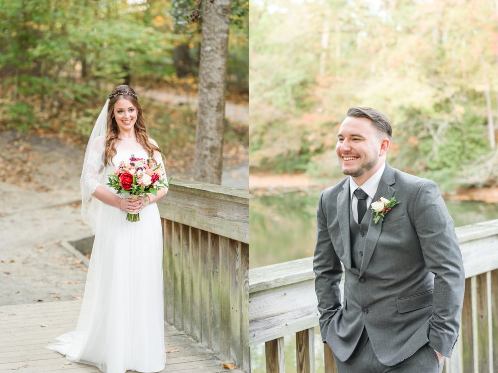Their First Look was just perfect on a nearby bridge at the Mariners Museum.