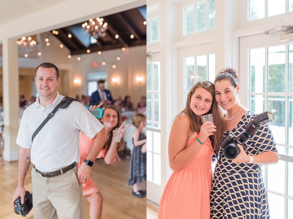 Sydney helped assist at several weddings with us, and we loved having her!