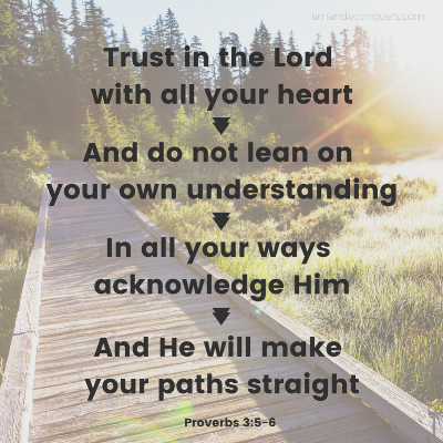 Trust in the Lord with all your heartAnd do not lean on your own understandingIn all your ways acknowledge HimAnd He will make your paths straight.png