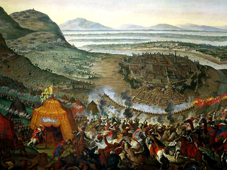 In 1683, the Ottoman army laid siege to Vienna attempting to tunnel under its walls. On September 11, German, French and Polish armies repelled the Ottoman Turks who never recovered from this defeat.