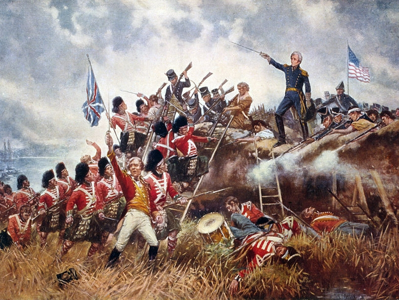 In 1803 Napoleon's French troops fought allied nations Austria, Russia, and England. France won Italy and Spain, but when invading Russia, the winter set in and most of the men died. In the War of 1812, provoked by British attacks, the US defended their nation again. British troops burned the capital but then signed a peace treaty. Napoleon returned from exile to fight England at Waterloo.