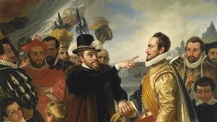 EM1 Philip_II_of_Spain_berating_William_the_Silent_Prince_of_Orange_by_Cornelis_Kruseman.jpg
