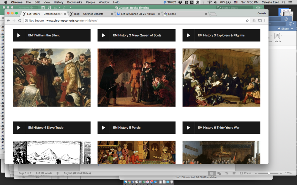 Early Modern History Review Page