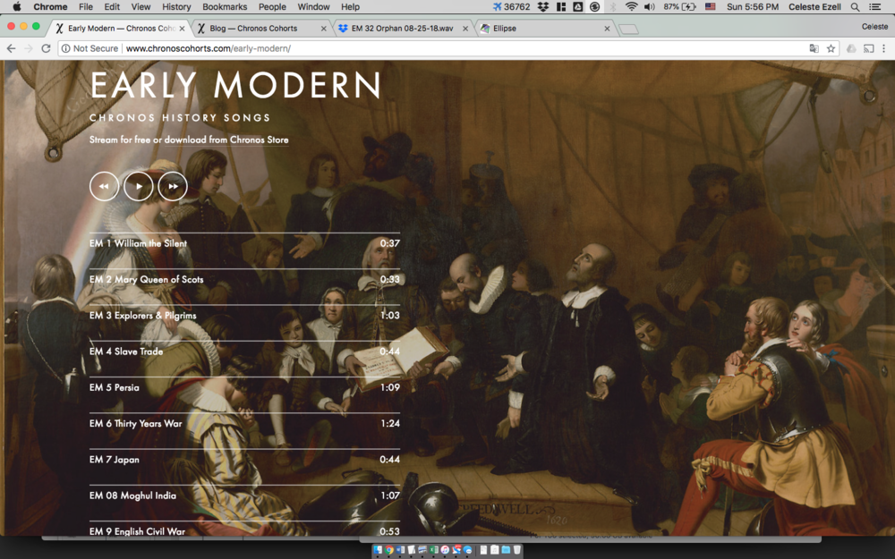 Early Modern History Album