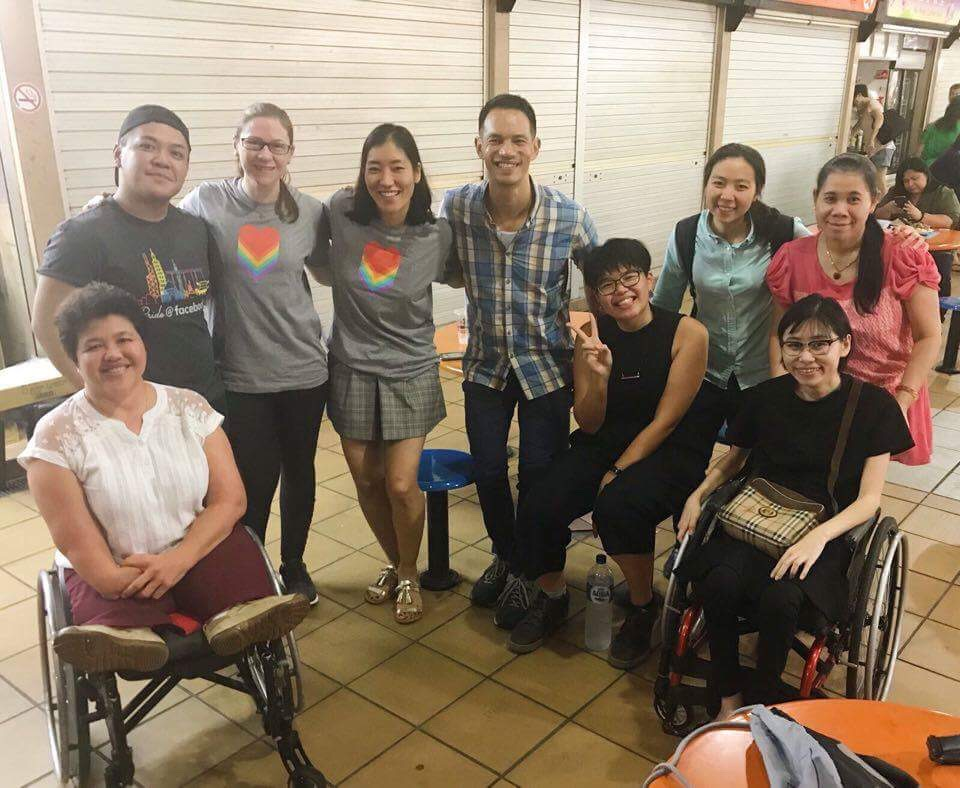 The Be Inclusive team joined our app users Amanda and Judy in their adventure in Chinatown.