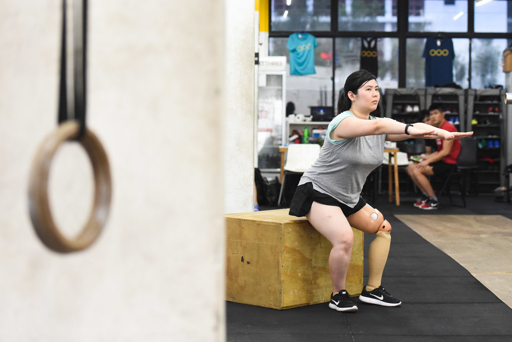 People of diverse disabilities gather at Innervate Fitness for their weekly Adaptive CrossFit class.
