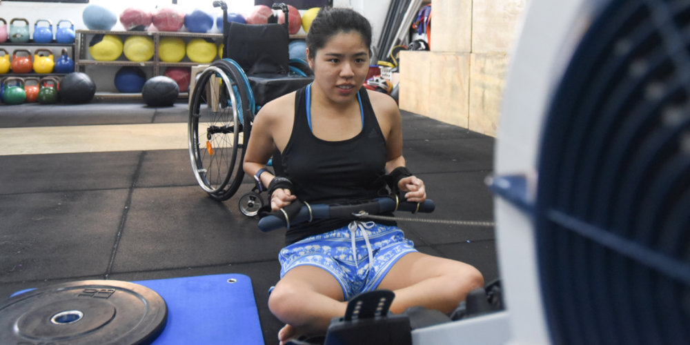 The Adaptive Crossfit class is open to all people with disabilities, regardless of their background or prior athletic experience.